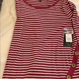 Fred David Tops - Fred David Button Accent Tunic NWT